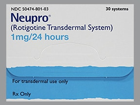 NEUPRO 1 MG/24 HR PATCH