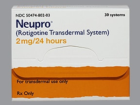 NEUPRO 2 MG/24 HR PATCH