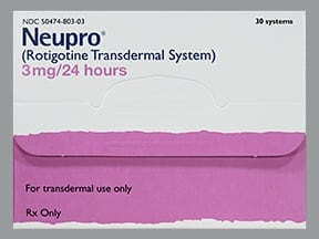 NEUPRO 3 MG/24 HR PATCH
