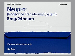 NEUPRO 8 MG/24 HR PATCH
