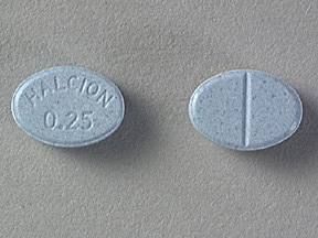 HALCION 0.25 MG TABLET