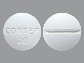 CORTEF 20 MG TABLET