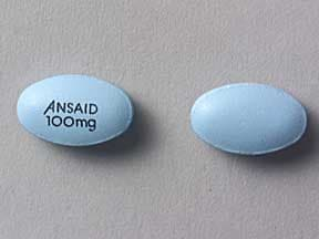 ANSAID 100 MG TABLET