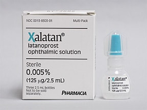 XALATAN 0.005% EYE DROPS