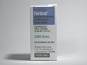FORTICAL 200 UNITS NASAL SPRAY