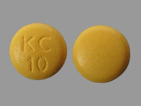 KLOR-CON 10 MEQ TABLET