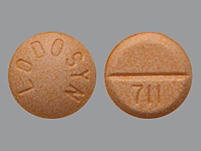 LODOSYN 25 MG TABLET