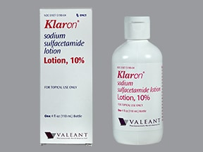 KLARON 10% LOTION
