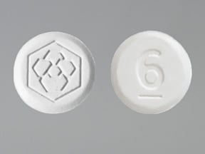 FANAPT 6 MG TABLET