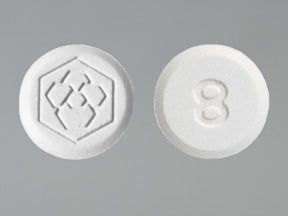 FANAPT 8 MG TABLET