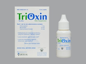 TRIOXIN OTIC SUSPENSION