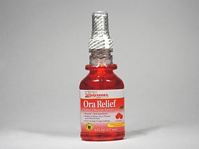 ORA RELIEF SORE THROAT SPRAY