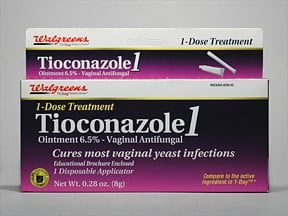 Tioconazole-1 vaginal : Uses, Side Effects, Interactions