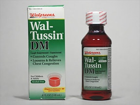 ADULT WAL-TUSSIN DM SYRUP