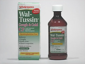 WAL-TUSSIN COUGH & COLD CF