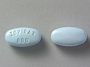 ZOVIRAX 800 MG TABLET