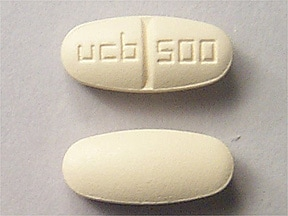 KEPPRA 500 MG TABLET