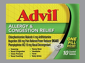 ADVIL ALLERGY-CONGEST RLF TAB