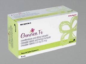 GENERESS FE CHEWABLE TABLET