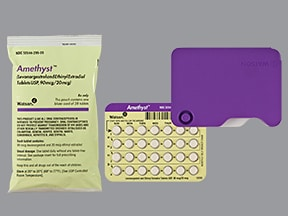 AMETHYST 90-20 MCG TABLET