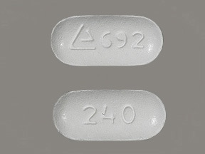 MATZIM LA 240 MG TABLET