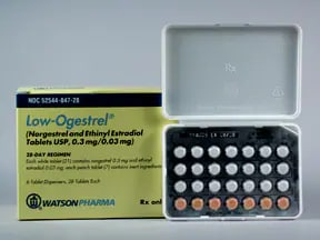 LOW-OGESTREL-28 TABLET