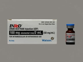 INFED 100 MG/2 ML VIAL