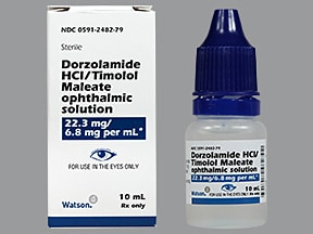 Dorzolamide-Timolol Ophthalmic Reviews