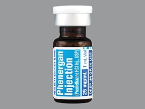 PHENERGAN 25 MG/ML VIAL