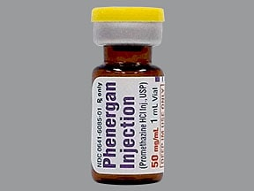 PHENERGAN 50 MG/ML VIAL