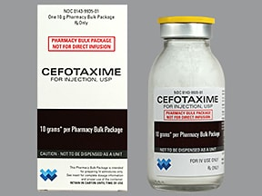 Cefotaxime Reviews
