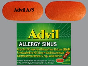 ADVIL ALLERGY SINUS CAPLET