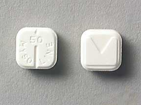 MYSOLINE 50 MG TABLET