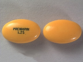 PREMARIN 1.25 MG TABLET