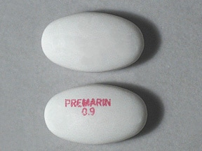 PREMARIN 0.9 MG TABLET