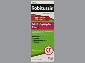 ADULT ROBITUSSIN M-S COLD LIQ