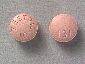 ZESTRIL 10 MG TABLET