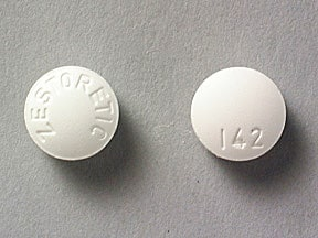 ZESTORETIC 20-12.5 MG TABLET