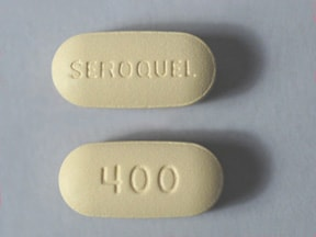 SEROQUEL 400 MG TABLET