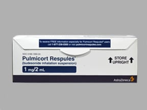 PULMICORT 1 MG/2 ML RESPULE