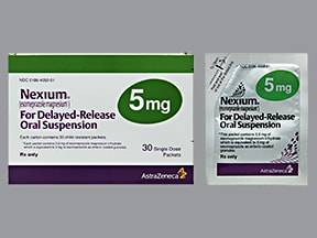 NEXIUM DR 5 MG PACKET