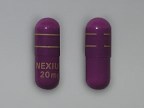 effects of nexium