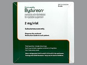 BYDUREON 2 MG VIAL